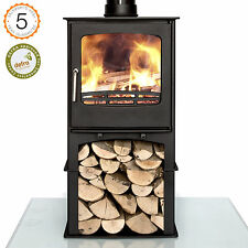 Defra Approved Purefire 8kw Curve With Stand  Woodburning Stove Stoves Burner