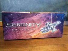 Serenity Firefly Ornament New in Box Dark Horse Unopened