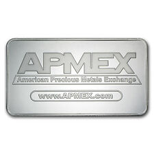 10 oz Silver Bar - APMEX - SKU #27087