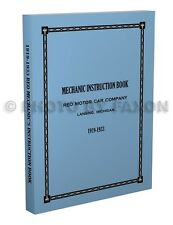 Reo Junior Speedwagon and Wolverine Shop Manual 1927 1928 1929 1930 Speed Wagon