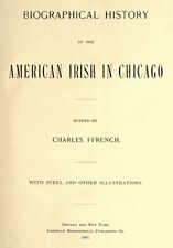 1897 Genealogy Biography IRISH in Chicago Illinois IL
