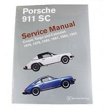 Porsche 911 SC Coupe Targa Cabriolet 1978-1983 Service Repair Manual Bentley