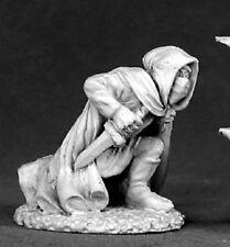 Kneeling Assassin Reaper Miniatures Dark Heaven Legends RPG Rogue Fighter Melee