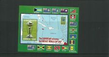 JAMAICA SGMS1134  ICC CRICKET WORLD CUP MINISHEET MNH