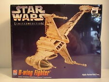 1995 AMT/ERTL Sealed Limited Edition Star Wars B-Wing Fighter. Model #8780.