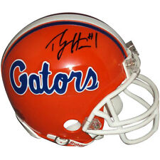 PERCY HARVIN Signed FLORIDA GATORS MINI HELMET - PBA COA