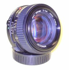 Minolta MD 50mm 1:1,4 lens in extremely good condition!