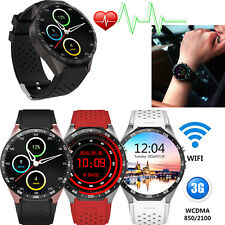 3G WiFi Smart Watch Bluetooth Phone Android 5.1 SIM GSM GPS Heart Rate Monitor