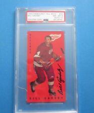 1994 Parkhurst Tall Boy Bill Gadsby, Autograph Hockey Card  NMMT PSA 8/ AUTO 10