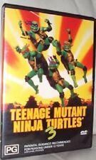 TEENAGE MUTANT NINJA TURTLES: - - PART 3 – DVD, III, TMNT, RARE!!!