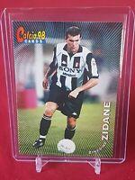 Zinedine Zidane Juventus France Calcio 98 Panini Card