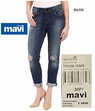 MAVI $128 NEW Ada Petite Distressed Ripped Stretch Jeans 30P L26 QCO