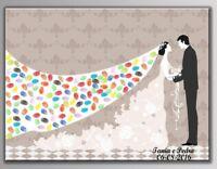Quadro A Impronte Per Le Matrimoni, Compleanni, Battesimo (60x75 CM