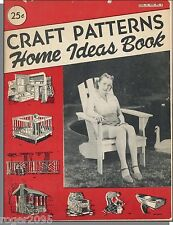 Craft Patterns Home Ideas Book, Vol 14 No 21 (1954) - Amply Illustrated Catalog!