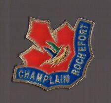pin's école Champlain de Rochefort (Charente Maritime)
