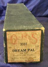 RP2719 Vtg Q.R.S. QRS Word Roll Player Piano Music Roll 3337 Dream Pal