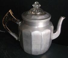 vintage Mirro Aluminum A.G.M. Co. Coffee Tea Pot