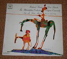 LP Richard Strauss Don Quixote Eugen Ormandy Lorne Munroe Columbia ML 5915