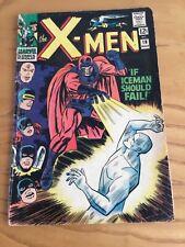 UNCANNY X-MEN #18 MARCH 1966 CENTS COPY NO COVER STAMP