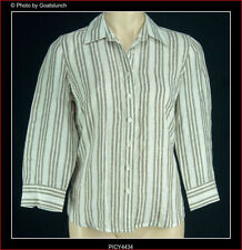 Sportscraft Linen Striped Tops & Blouses for Women