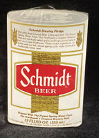 Vintage Beer Can Schmidt Beer SEALED Deck of Playing Cards.