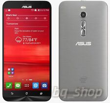 """ASUS ZenFone 2 ZE551ML 5.5"""" 4GB/64GB LTE Dual SIM Silver Android Phone By Fedex"""
