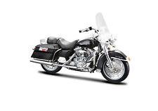 Harley Davidson 1999 FLHR Road King 1:18 schwarz - die cast model