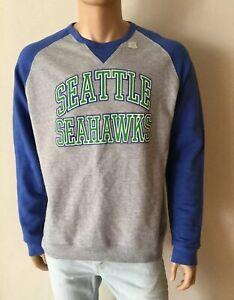 NFL Junk Food Seattle Seahawks Sweatshirt Pullover Size L