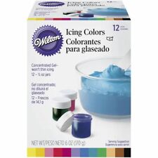 Wilton Food Coloring for Cake Decorating for sale | eBay