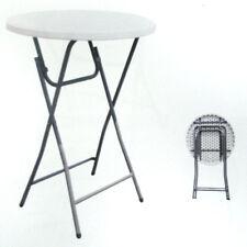 2 x Cocktail Tisch Table 60 cm Stehtisch Biertisch - 110 cm Hoch