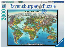 Ravensburger 2000 Piece World Map Puzzle - RB16683-1