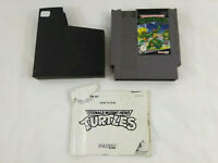 Jeu Nintendo NES  Teenage Mutant Hero Turtles et notice NES-88-FRA  Envoi suivi