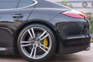 Car Spray Paint For PORSCHE BASALT BLACK LC9Z - BOXTER 911 924 - FREE ABRASIVES