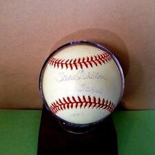 Steve Carlton Autographed OML Baseball Steiner authenticated