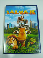 Salvaje The Wild Disney - DVD + Extras Español Ingles Region 2