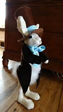 Large Easter Bunny Wearing Coat With Tails And Top Hat