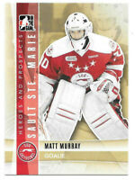 2011-12 Matt Murray ITG In The Game Heroes & Prospects Rookie - Penguins