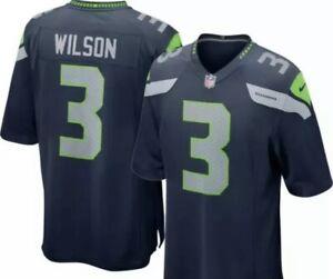 New Nike #3 Russell Wilson Seahawks Jersey - XXL