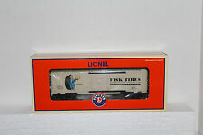 Lionel #52383 Fisk Tires Boxcar made for NETCA