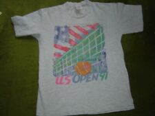 Us Open 91 Net And Ball Gray Tee - Feron'S Small  Good Condition