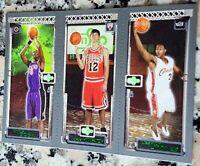 LEBRON JAMES 2003-04 Topps Matrix Triple Rookie Card RC Cavaliers Lakers MVP