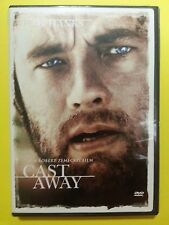 CAST AWAY TOM HANKS (DVD, 2006, Single Disc Version; Widescreen; Sensormatic)