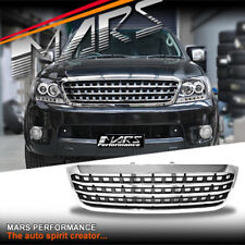 Chrome Black AMG Style Front Grill for TOYOTA HILUX VIGO 05-11 UTE GRILLE