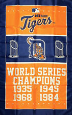 New listing Detroit Tigers World Series Championship Flag 3x5 ft Mlb Sports Banner M 00004000 an-Cave