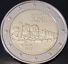 2 Euro Gedenkmünze Malta 2017 Hagar Qim UNC aus KMS mit Münzzeichen F