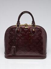 Louis Vuitton Amarante Monogram Vernis Alma PM Bag