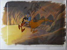WIZARDS - WEEHAWK OPC Production Animation Cel w Color Background Ralph Bakshi