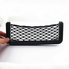 7.5inch Storage Net String Bag Fit For iPhone6 Plus Holder Ticket Pocket For BMW