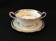 Paragon Cream Soup & Saucer Fine China SAK LTD Montreal by Appointment England