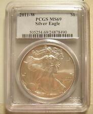 2011 W Silver Eagle PCGS MS69